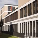 Gebäude für konservative Medizin im Bau